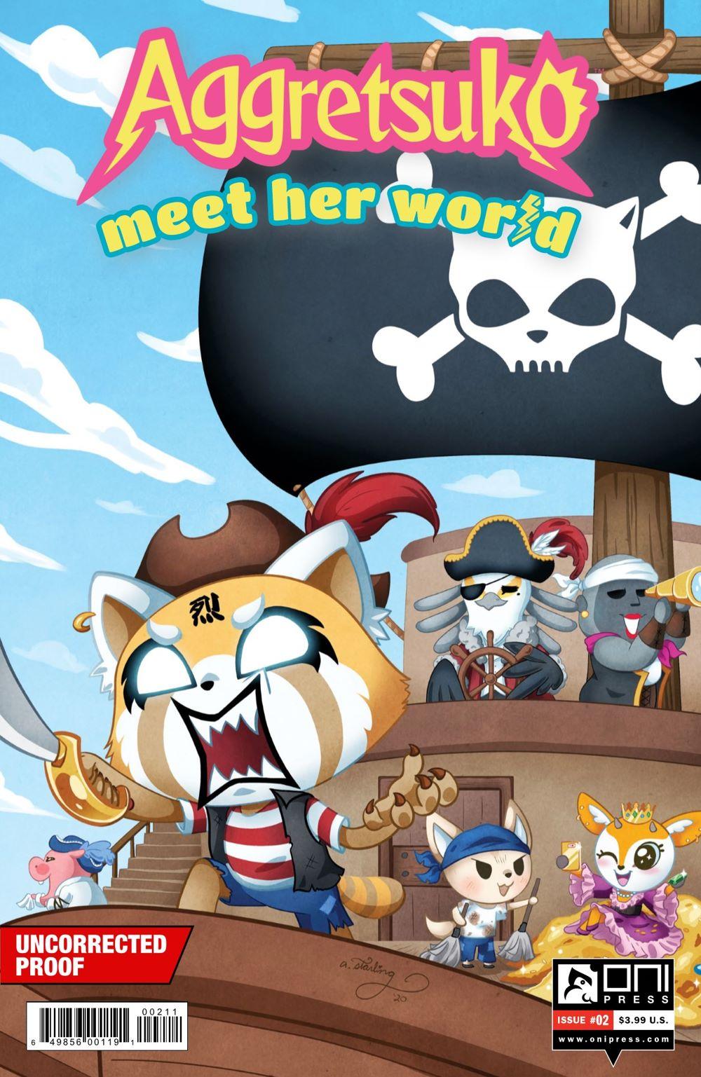AGGRETSUKO-MHW-2-MARKETING-01-1 ComicList Previews: AGGRETSUKO MEET HER WORLD #2