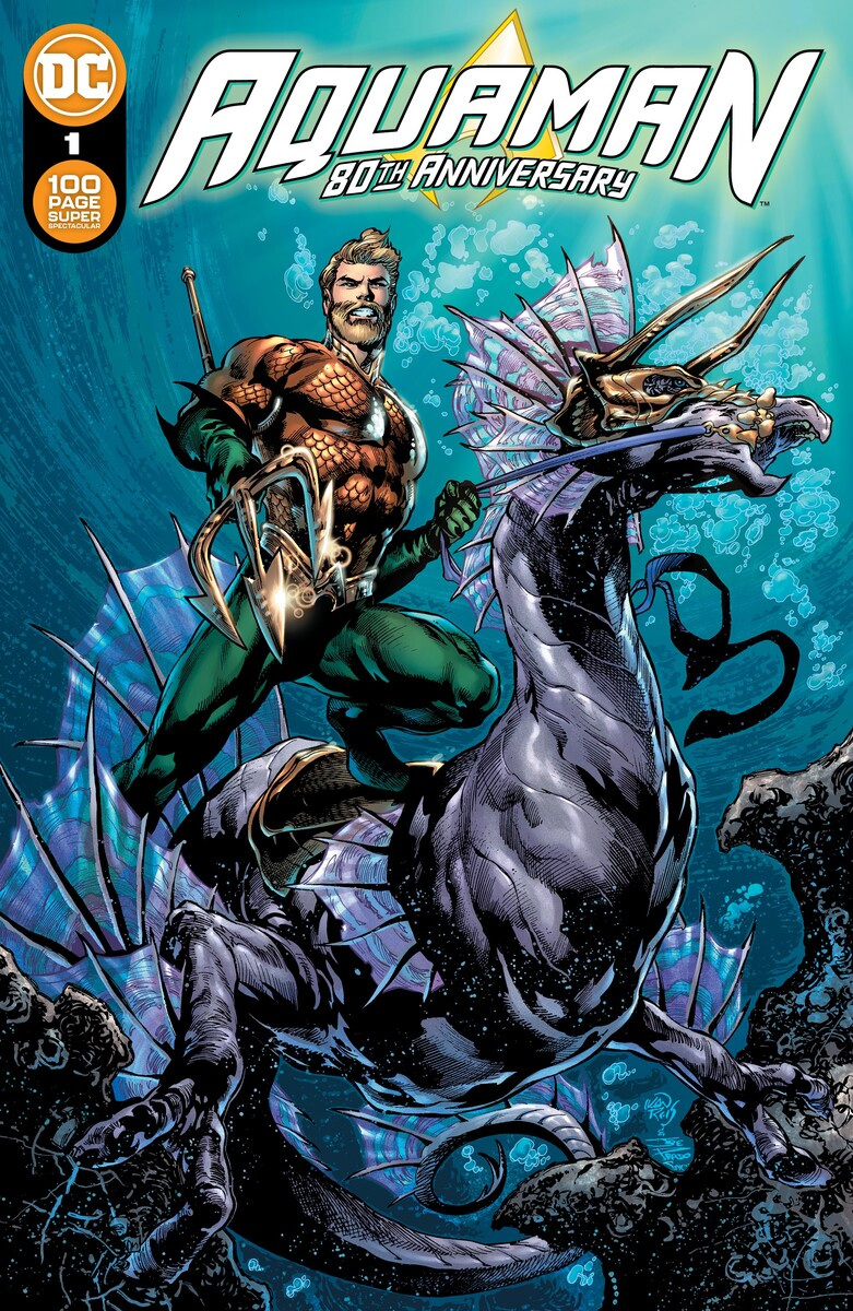 AQM_80THANN_Cv11_60a2d6ea2f7545.69069474 Aquaman's 80th anniversary exalted by 100-Page Super Spectacular