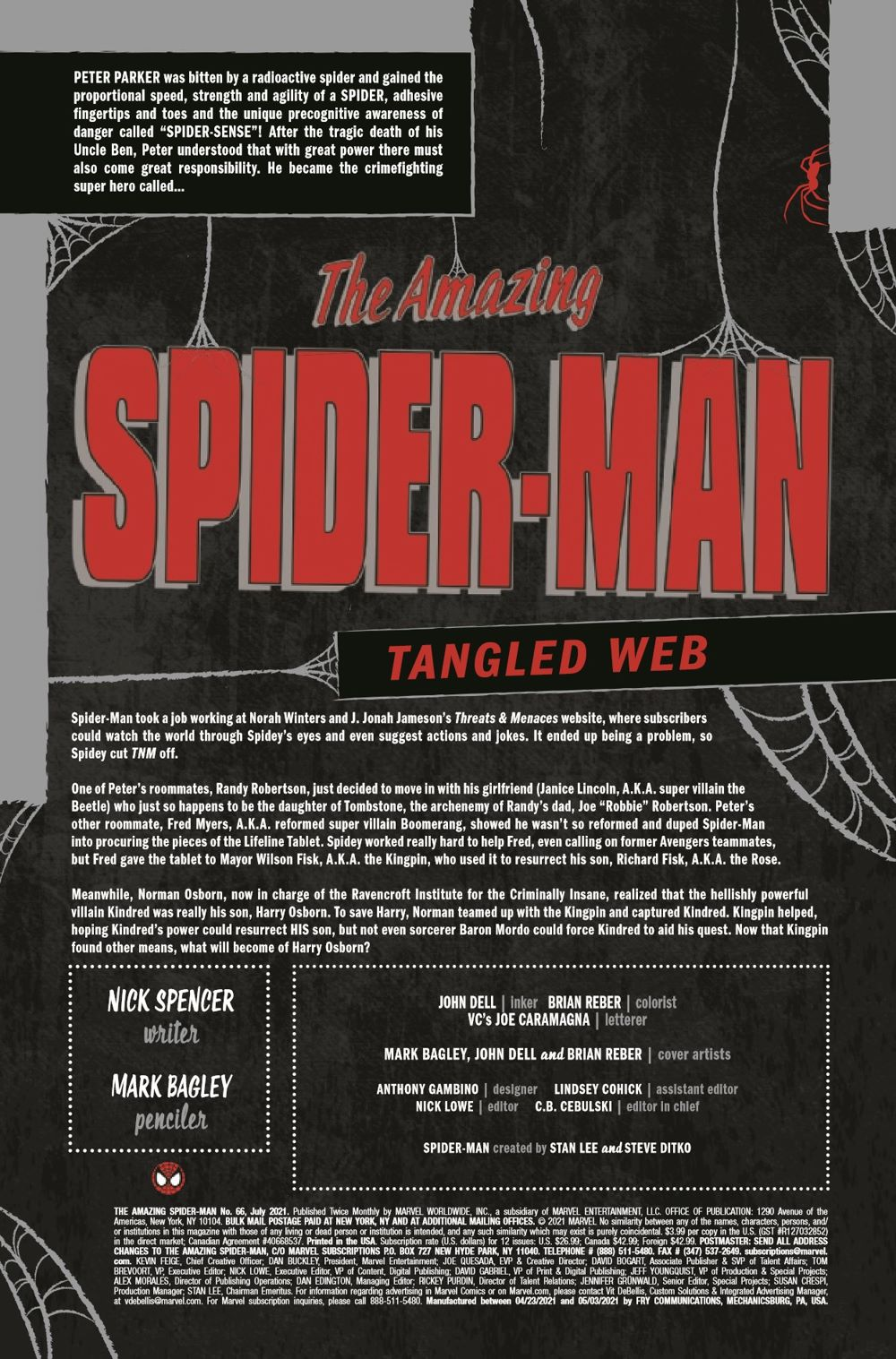 ASM2018066_Preview-2 ComicList Previews: THE AMAZING SPIDER-MAN #66