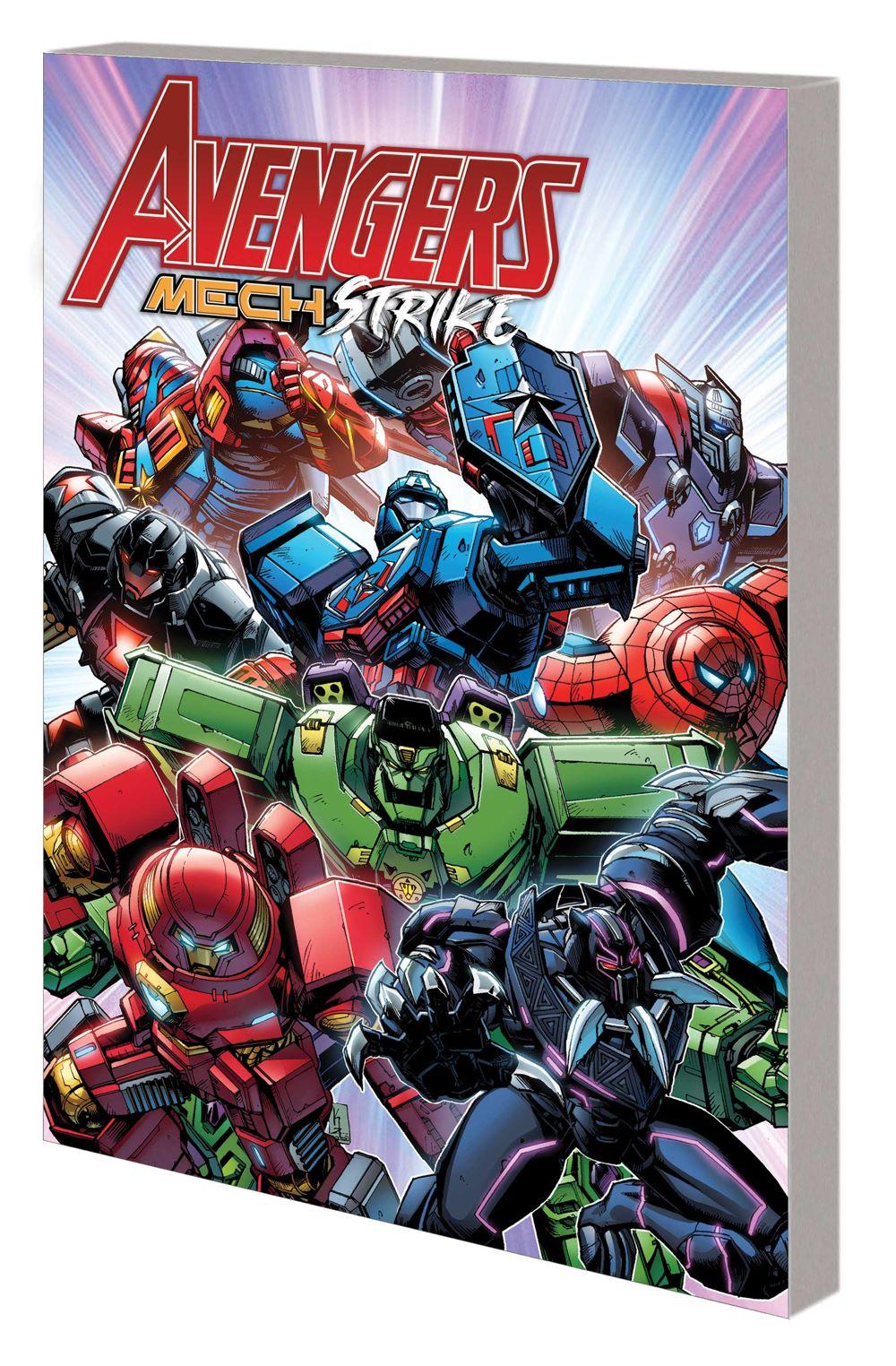 AVENMECHSTRIKE_TPB Marvel Comics August 2021 Solicitations