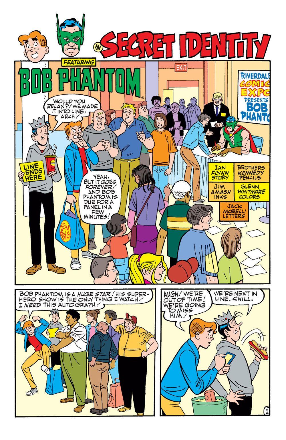 ArchieAndFriends_Superheroes-8 ComicList Previews: ARCHIE AND FRIENDS SUPERHEROES #1
