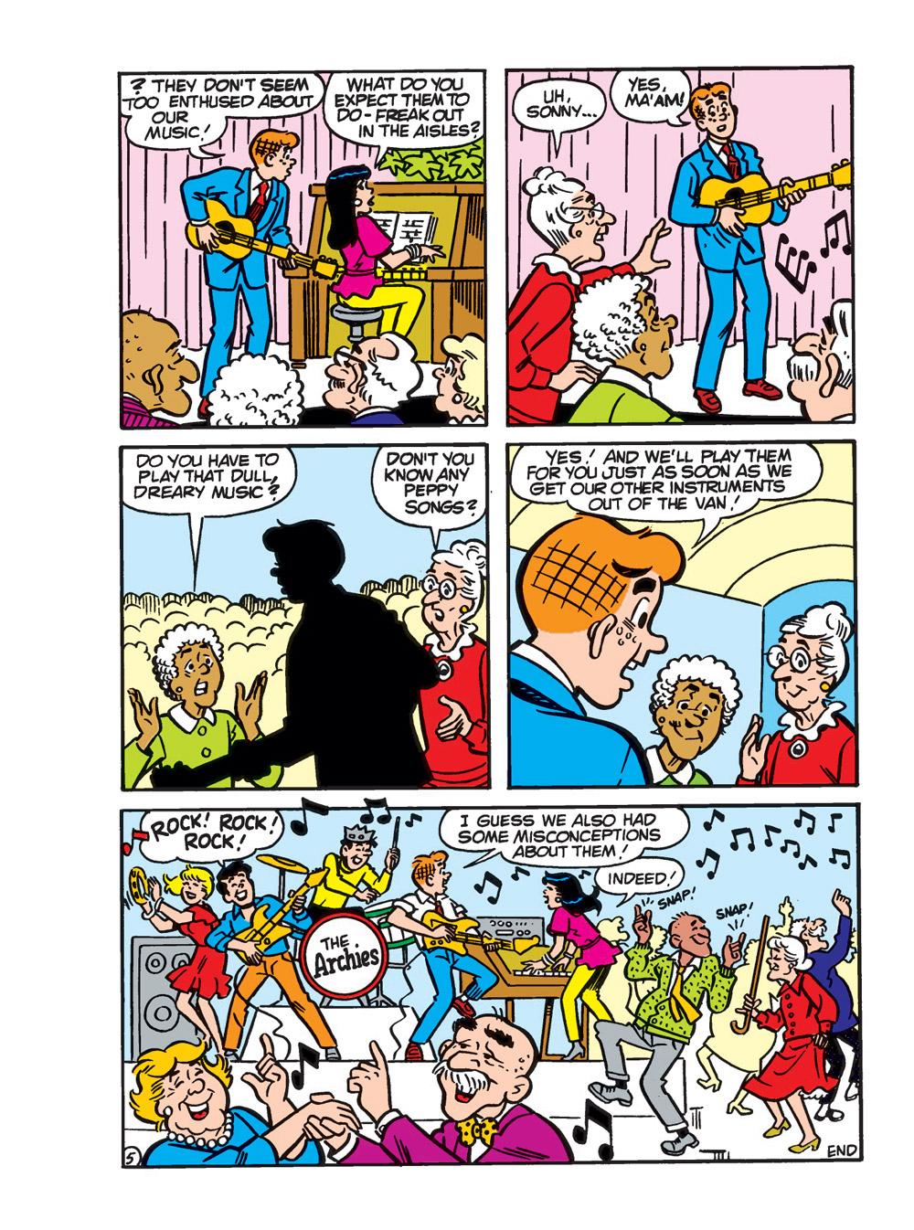 ArchieGiantComicsThrill-54 ComicList Previews: ARCHIE GIANT COMICS THRILL TP