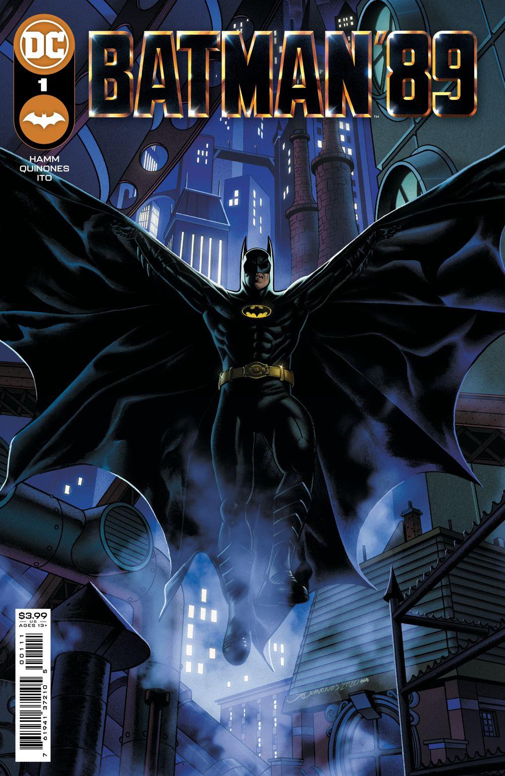 BATMAN89_Cv1 DC Comics August 2021 Solicitations