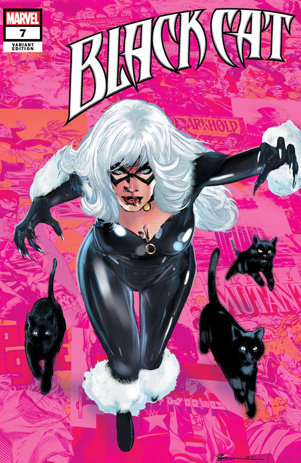 BLACKCAT2020007_Pride Marvel Comics reveals Black Cat Pride Month Variant cover