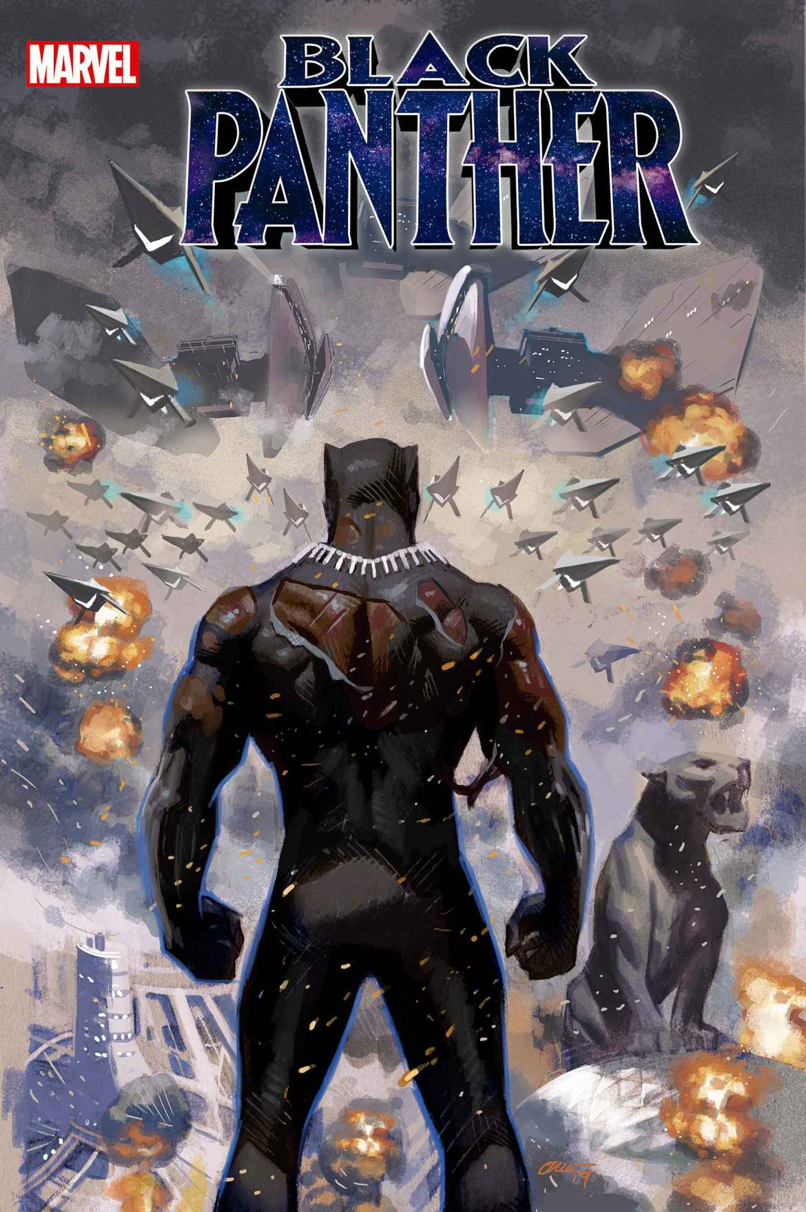 BLAP2018025_cvr This new BLACK PANTHER #25 trailer honors the end of an era