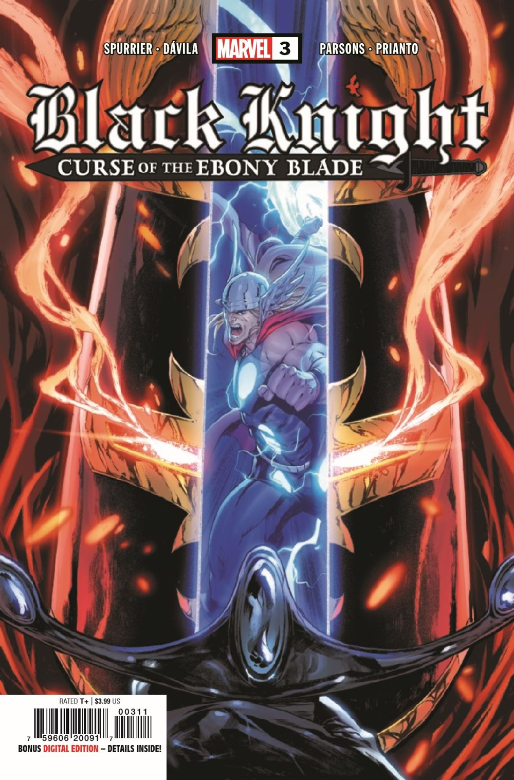 BLKKNGHTCURSE2021003_Preview-1 ComicList Previews: BLACK KNIGHT CURSE OF THE EBONY BLADE #3 (OF 5)