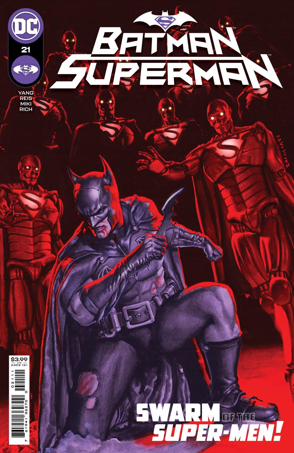 BMSM_Cv21 DC Comics August 2021 Solicitations