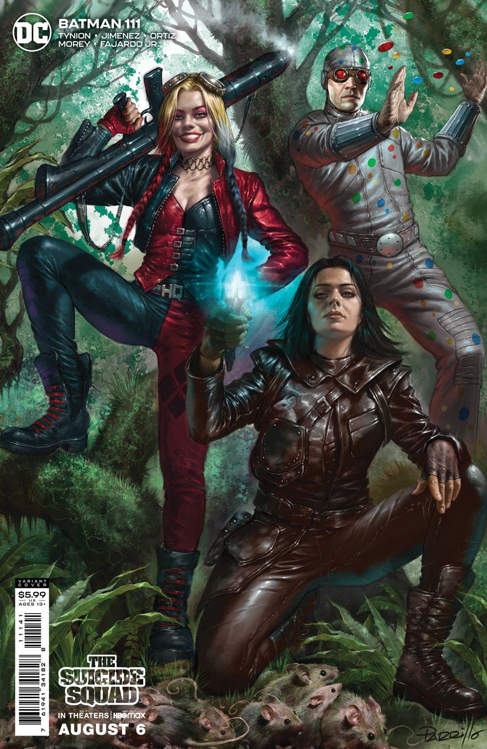 BM_Cv111_SSMOVIE_var_11141 DC Comics August 2021 Solicitations