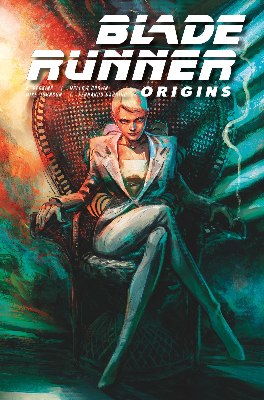 BladeRunnerOrigins_5B_HERVAS Titan Comics August 2021 Solicitations