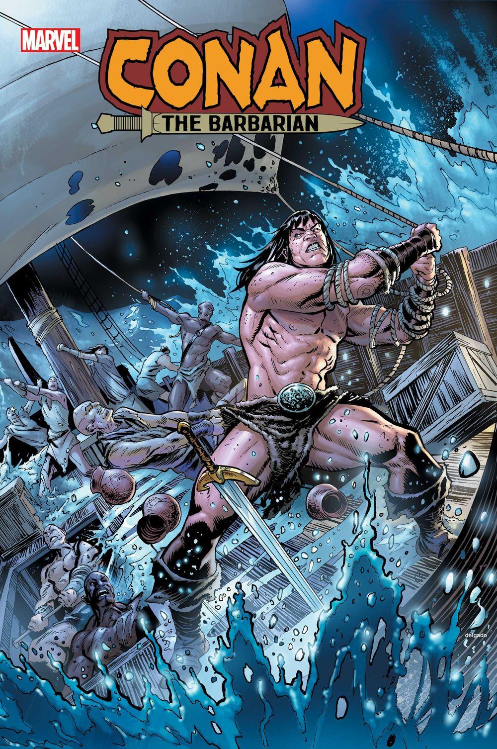 CONANBARB2019024_col Marvel Comics August 2021 Solicitations