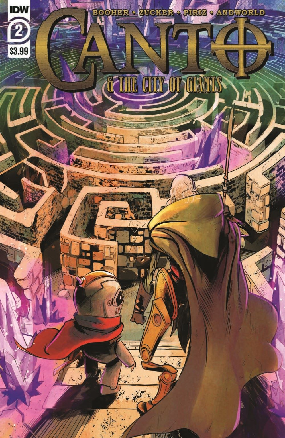 Canto-CoG02_pr-1 ComicList Previews: CANTO AND THE CITY OF GIANTS #2 (OF 3)