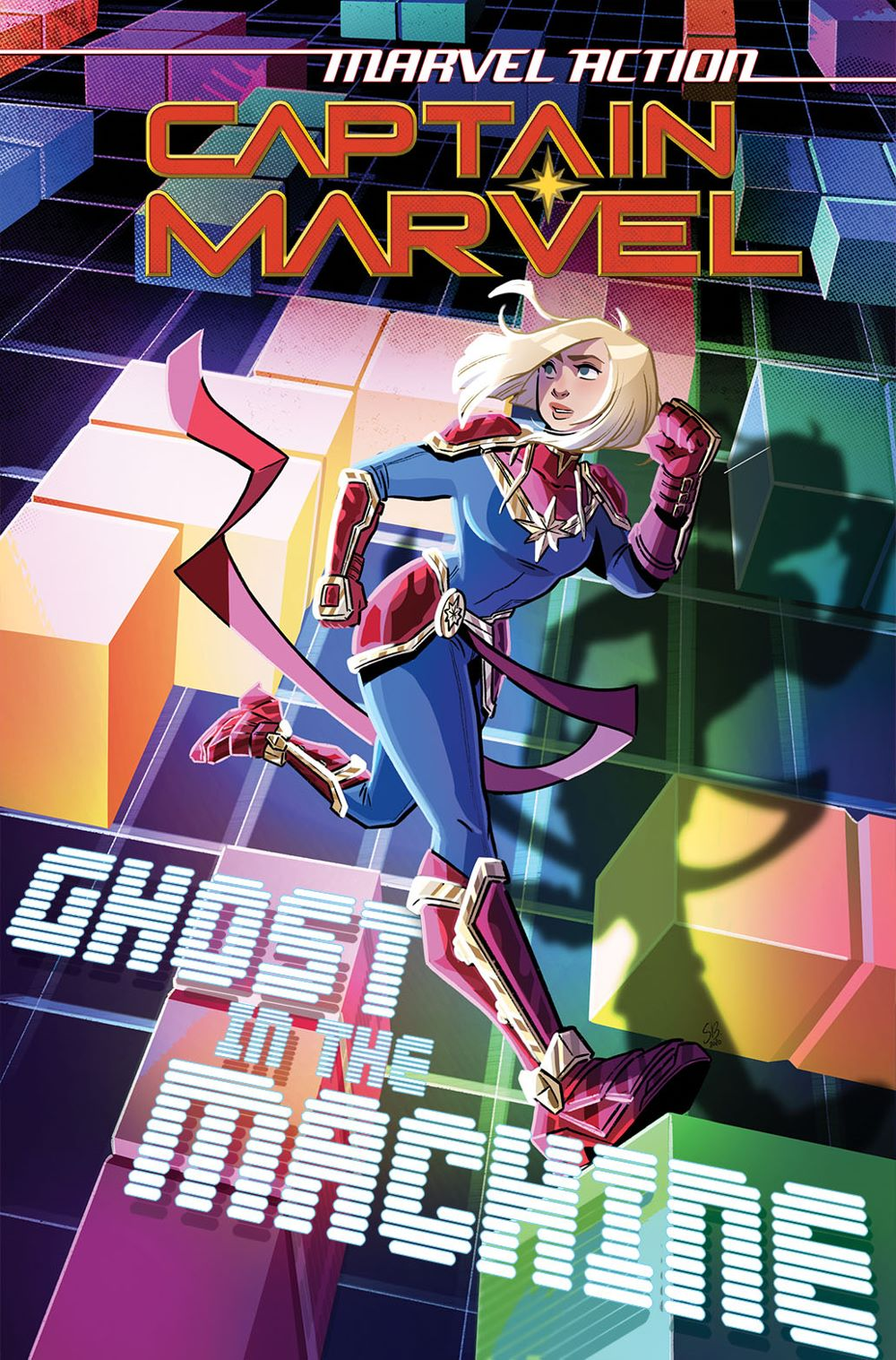 CaptainMarvel_Ghost_inthe_Machine-Cover1-copy IDW Publishing August 2021 Solicitations