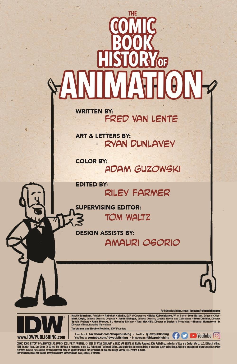 ComicBookHistory_05_pr-2 ComicList Previews: COMIC BOOK HISTORY OF ANIMATION #5 (OF 5)