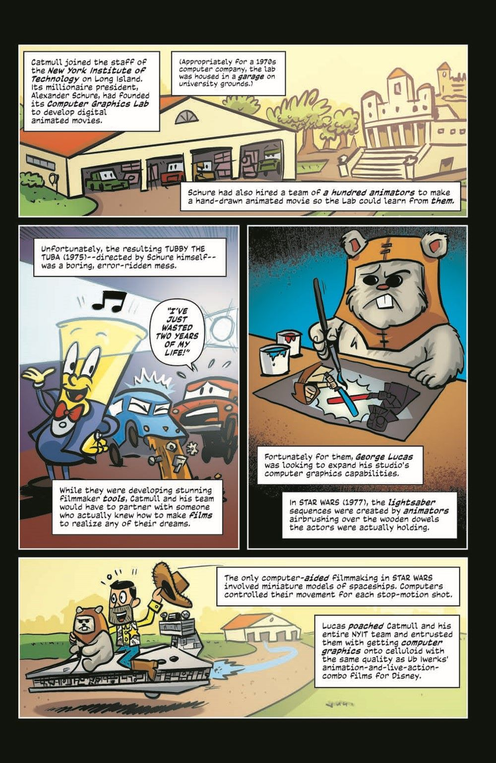 ComicBookHistory_05_pr-6 ComicList Previews: COMIC BOOK HISTORY OF ANIMATION #5 (OF 5)