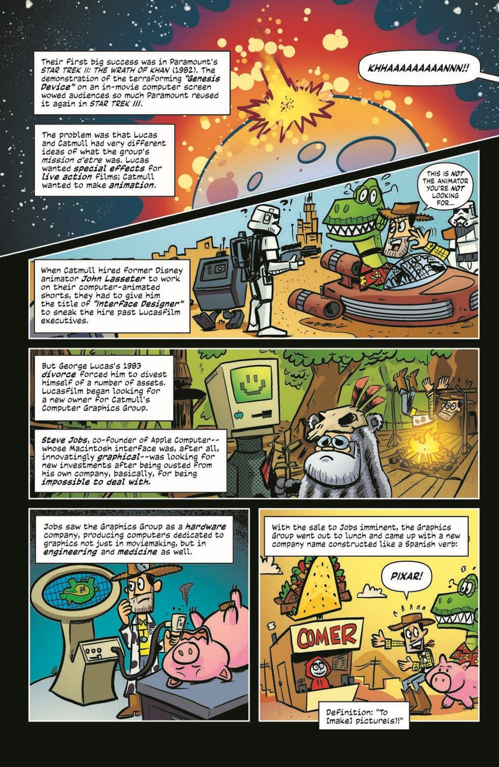 ComicBookHistory_05_pr-7 ComicList Previews: COMIC BOOK HISTORY OF ANIMATION #5 (OF 5)