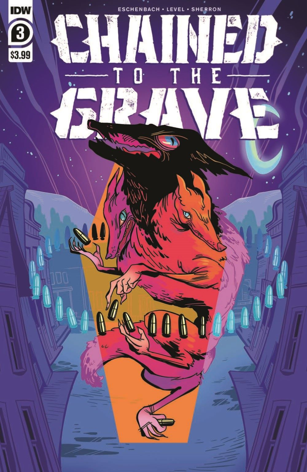 CttG03_pr-1 ComicList Previews: CHAINED TO THE GRAVE #3 (OF 5)