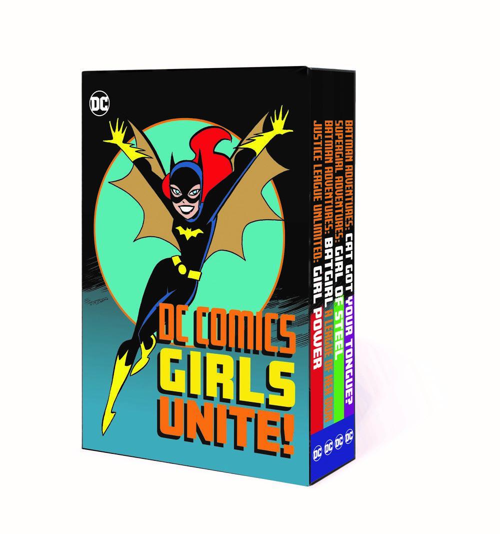 DC-GIRLS_UNITE_MOCKUP_FLAT DC Comics August 2021 Solicitations
