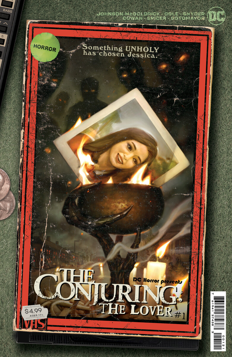 DCH_TCTL_Cv1_VHS_var3_60947621b790c7.82307439 First Look at DC HORROR PRESENTS THE CONJURING THE LOVER #1 (OF 5)