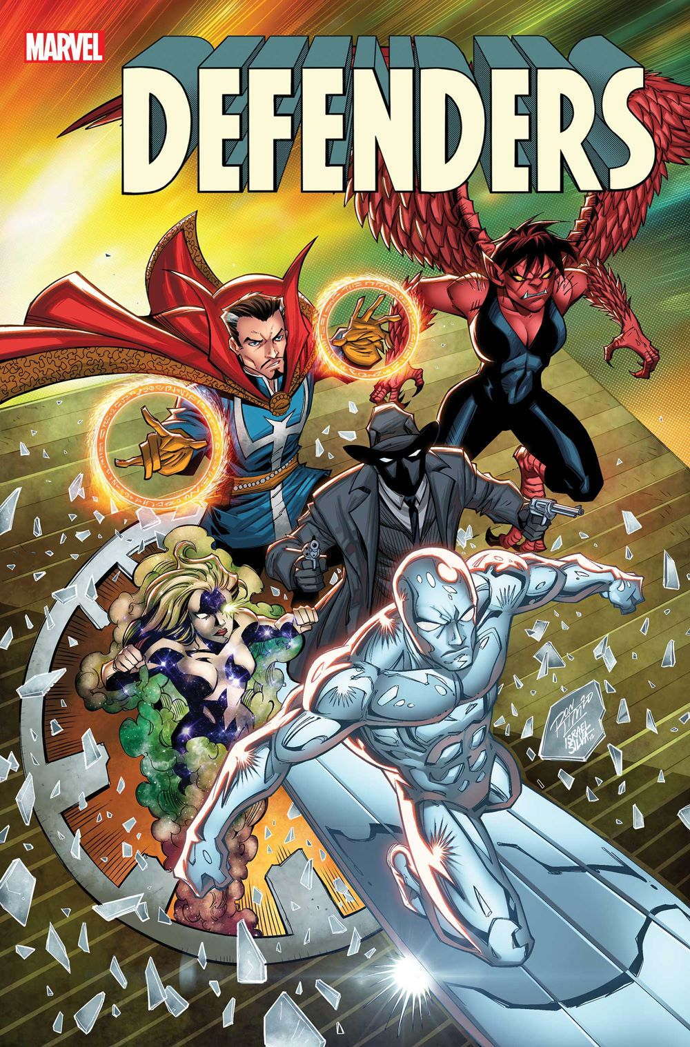 DEFEND2021001_Ron_Lim_var Marvel Comics August 2021 Solicitations