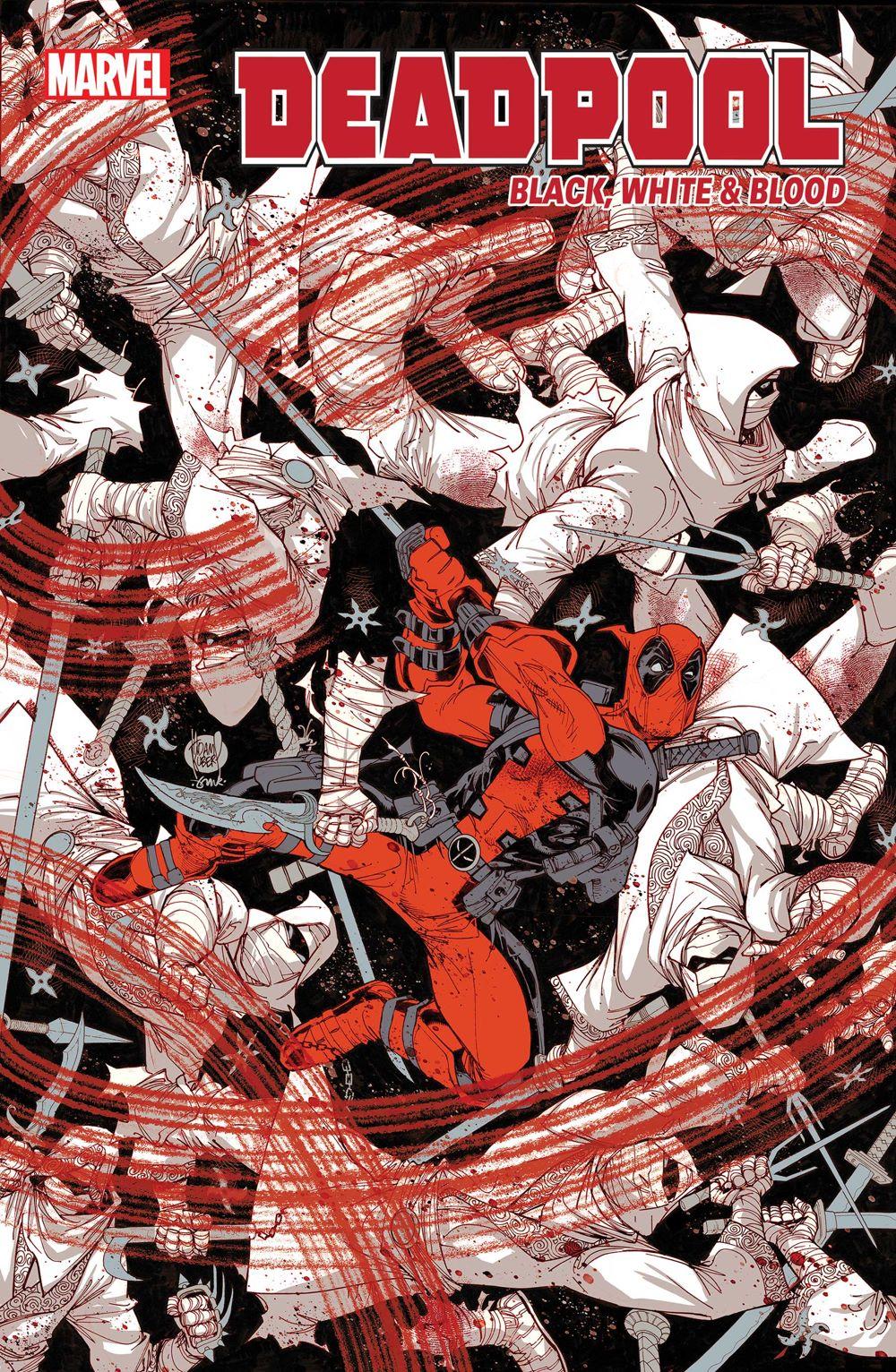 DPOOLBLKWHBL2021001_Cov Marvel Comics August 2021 Solicitations