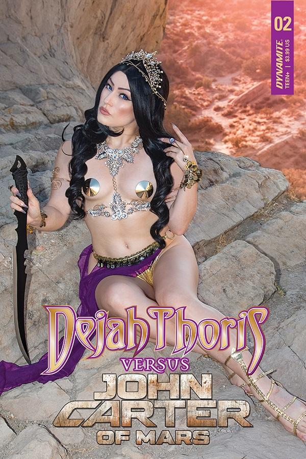 DejahversusCarter-02-02041-D-Cosplay Dynamite Entertainment August 2021 Solicitations