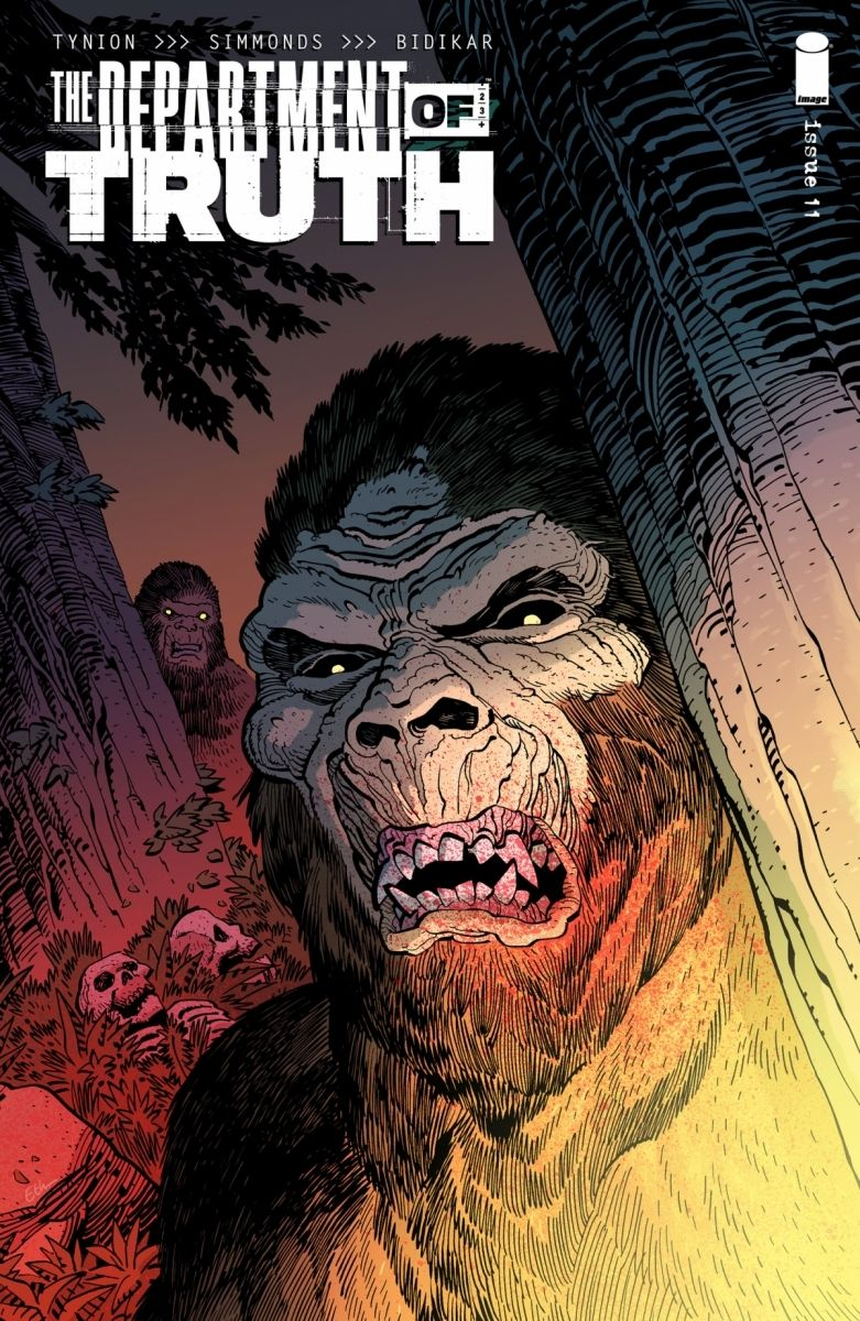 DepartmentTruth_11_coverC_c6815a0147f8285e3b5042ebb3626151 Bigfoot is hunted in THE DEPARTMENT OF TRUTH this June