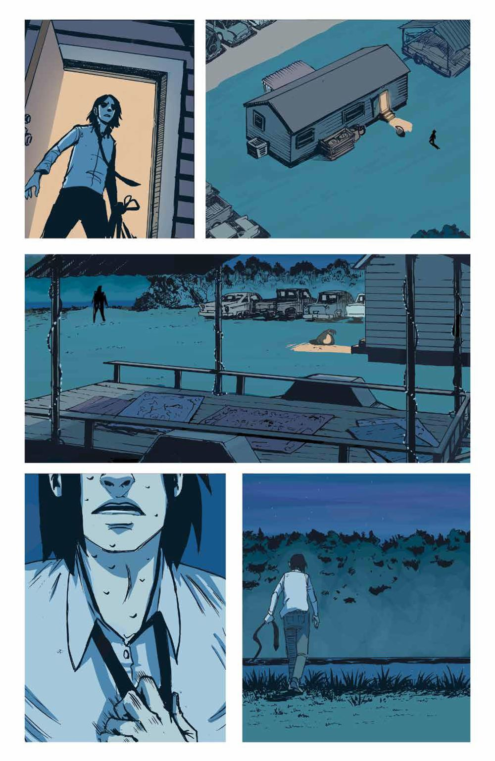 DownRiverPeople_SC_PRESS_22 ComicList Previews: THE DOWN RIVER PEOPLE GN