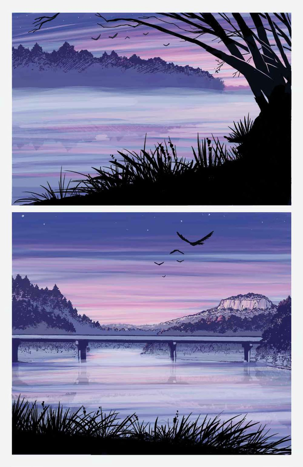 DownRiverPeople_SC_PRESS_9 ComicList Previews: THE DOWN RIVER PEOPLE GN