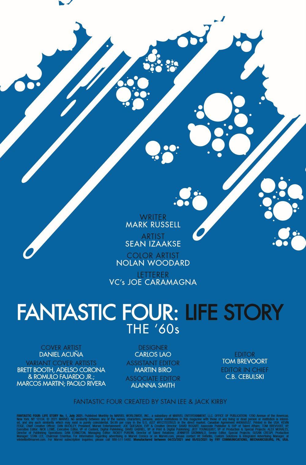 FFLIFESTORY2021001_Preview-2 ComicList Previews: FANTASTIC FOUR LIFE STORY #1 (OF 6)