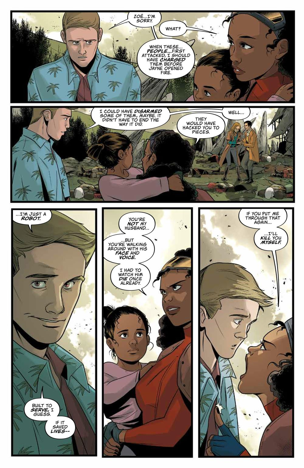 Firefly_029_PRESS_4 ComicList Previews: FIREFLY #29