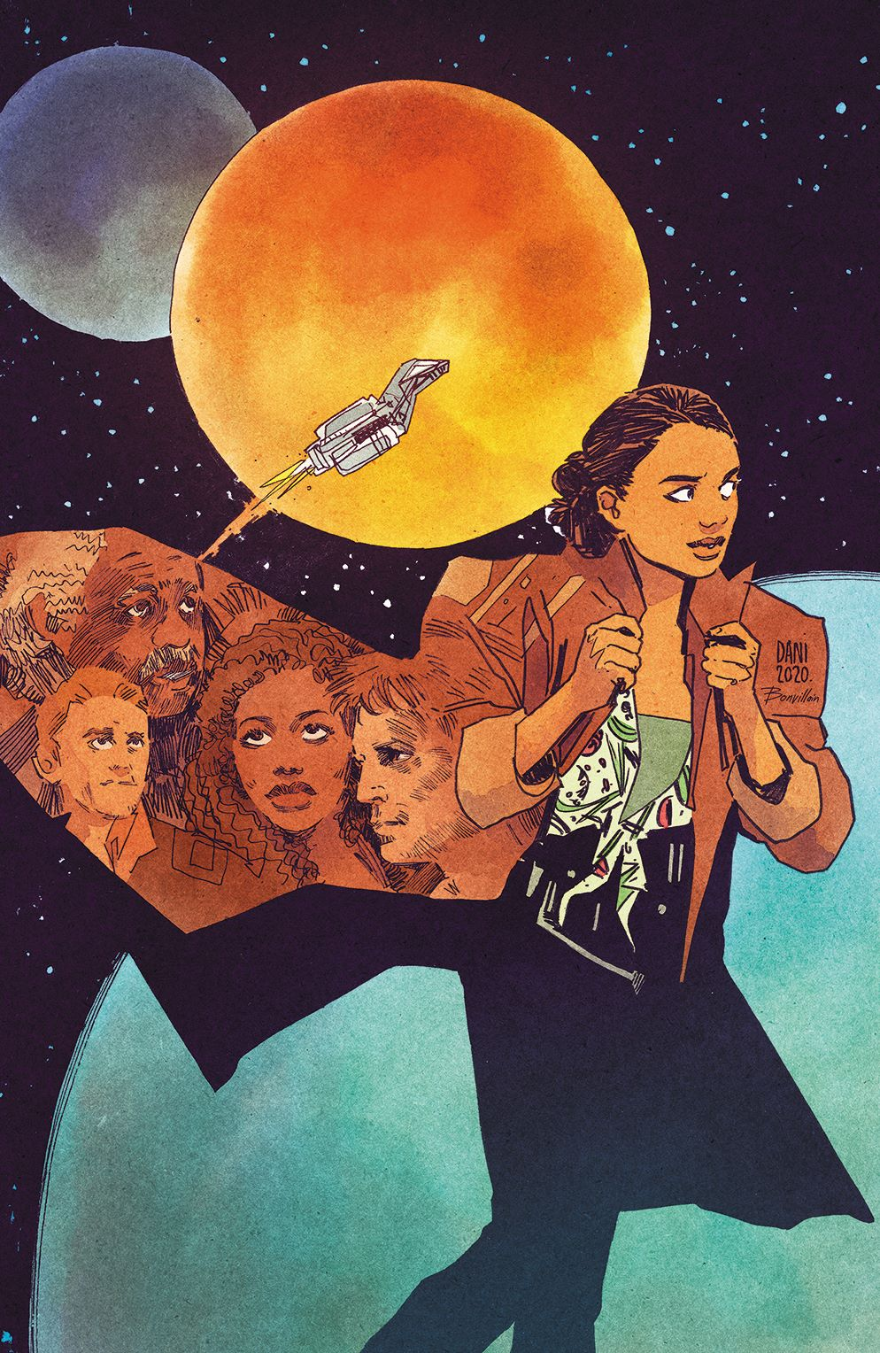 Firefly_BrandNewVerse_003_Cover_D_Variant ComicList Previews: FIREFLY A BRAND NEW 'VERSE #3 (OF 6)