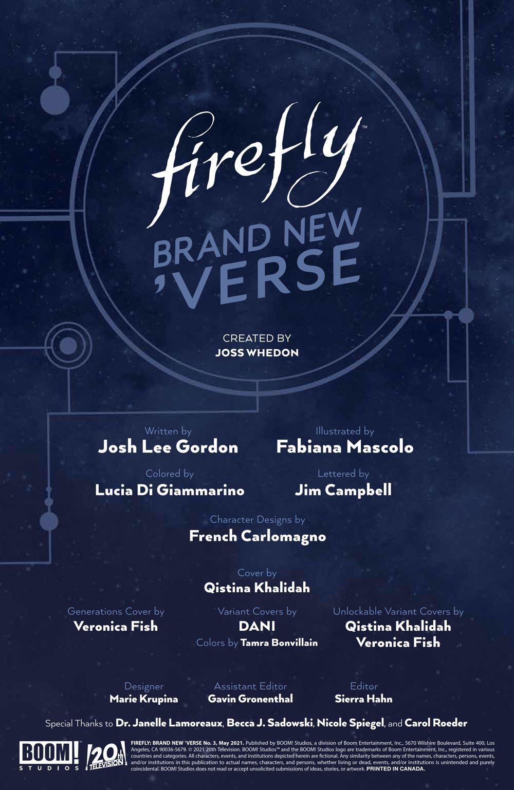 Firefly_BrandNewVerse_003_PRESS_2 ComicList Previews: FIREFLY A BRAND NEW 'VERSE #3 (OF 6)