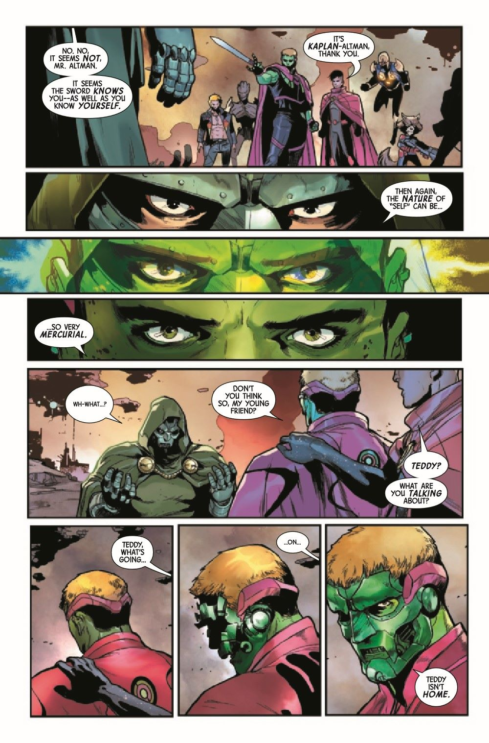GARGAL2020014_Preview-5 ComicList Previews: GUARDIANS OF THE GALAXY #14