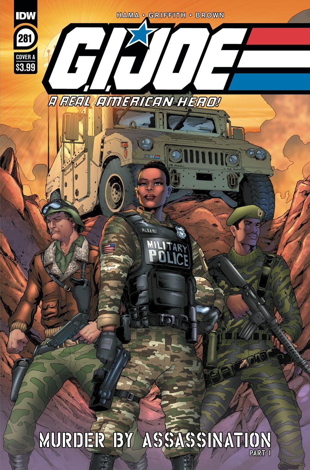 GIJoeRAH281-coverA ComicList Previews: G.I. JOE A REAL AMERICAN HERO #281