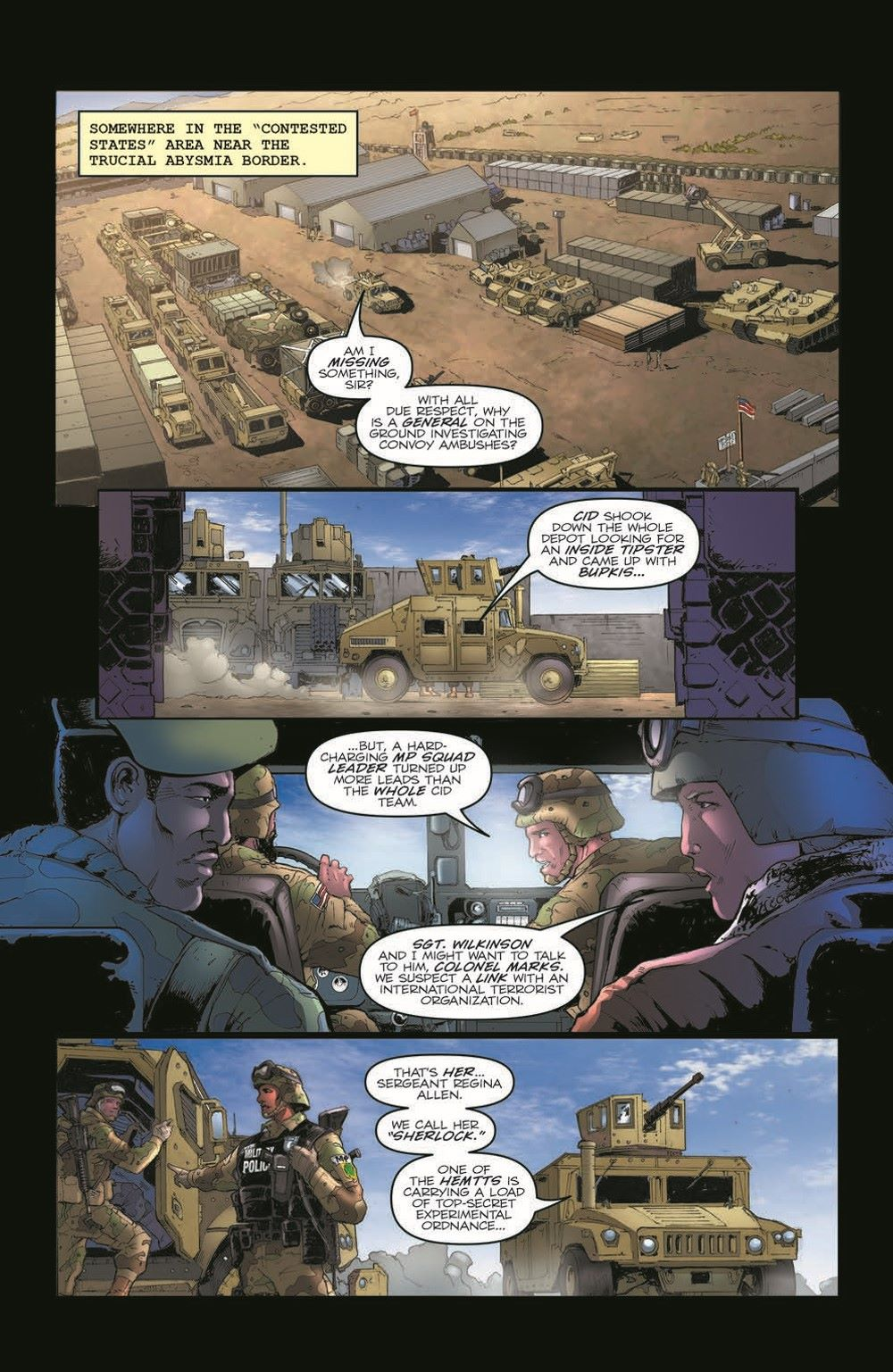 GIJoeRAH281-pr-3 ComicList Previews: G.I. JOE A REAL AMERICAN HERO #281