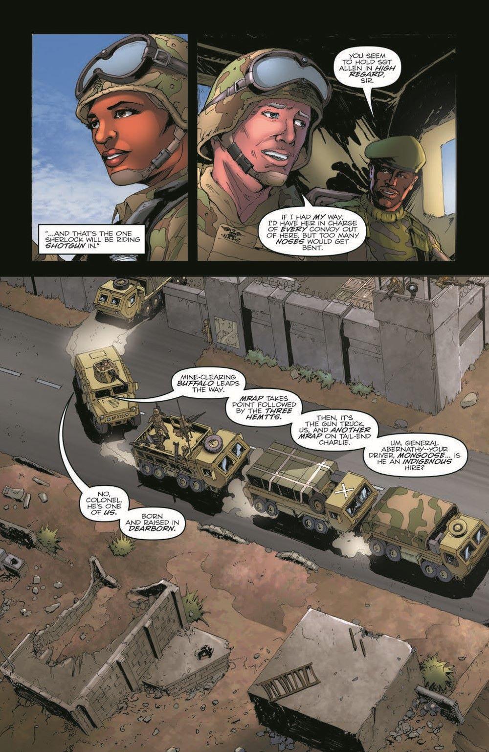 GIJoeRAH281-pr-4 ComicList Previews: G.I. JOE A REAL AMERICAN HERO #281