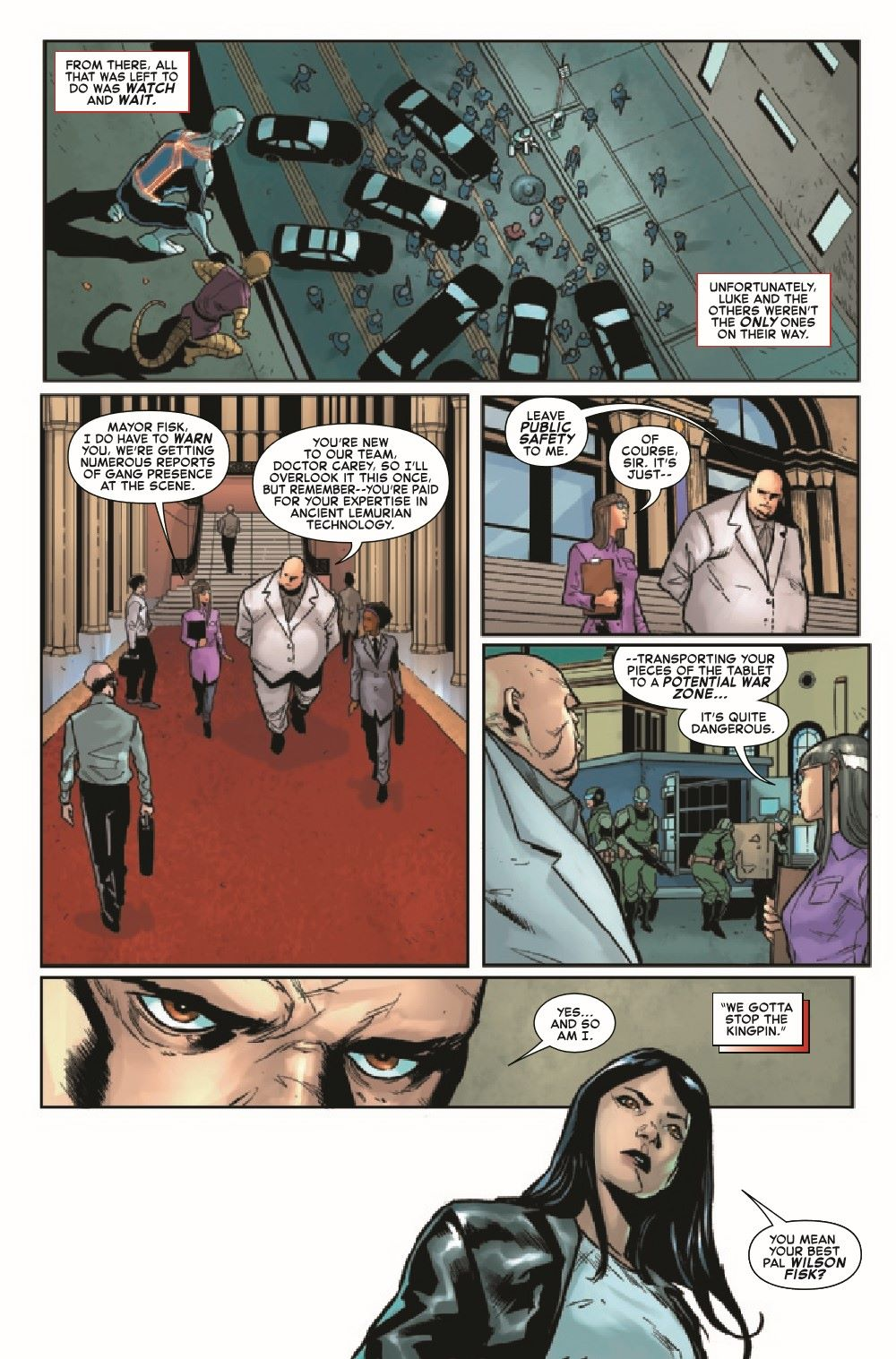 GSASMKINGR2021001_Preview-4 ComicList Previews: GIANT-SIZE AMAZING SPIDER-MAN KING'S RANSOM #1
