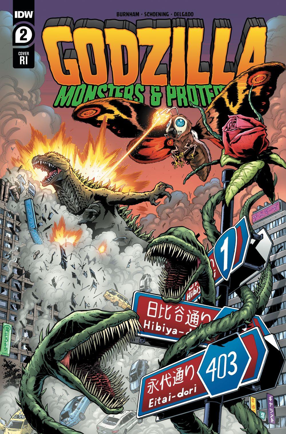 Godzilla_MP02-coverRI ComicList Previews: GODZILLA MONSTERS AND PROTECTORS #2 (OF 5)