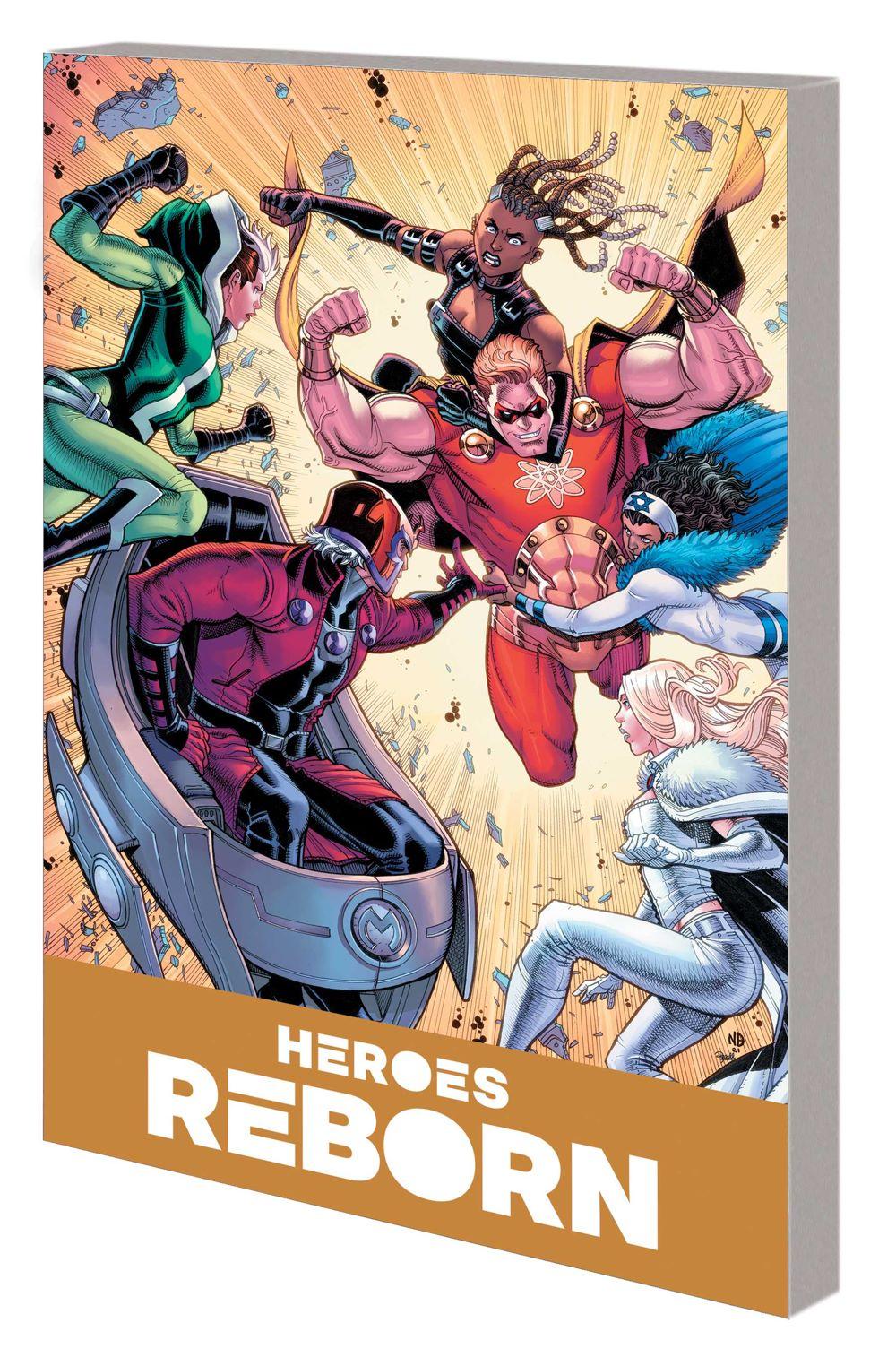 HEROES_REBORN_COMPANION_VOL_1_TPB Marvel Comics August 2021 Solicitations