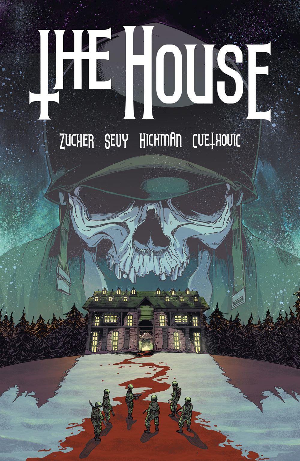 HOUSE_TPB_CVR_4X6_SOL-3 Dark Horse Comics August 2021 Solicitations