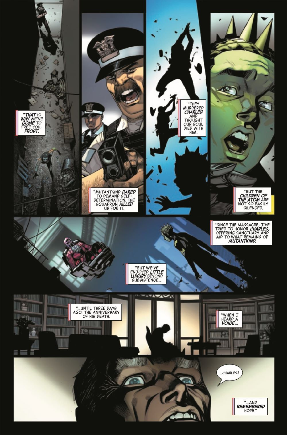HRMAGNETOMF2021001_Preview-6 ComicList Previews: HEROES REBORN MAGNETO AND THE MUTANT FORCE #1