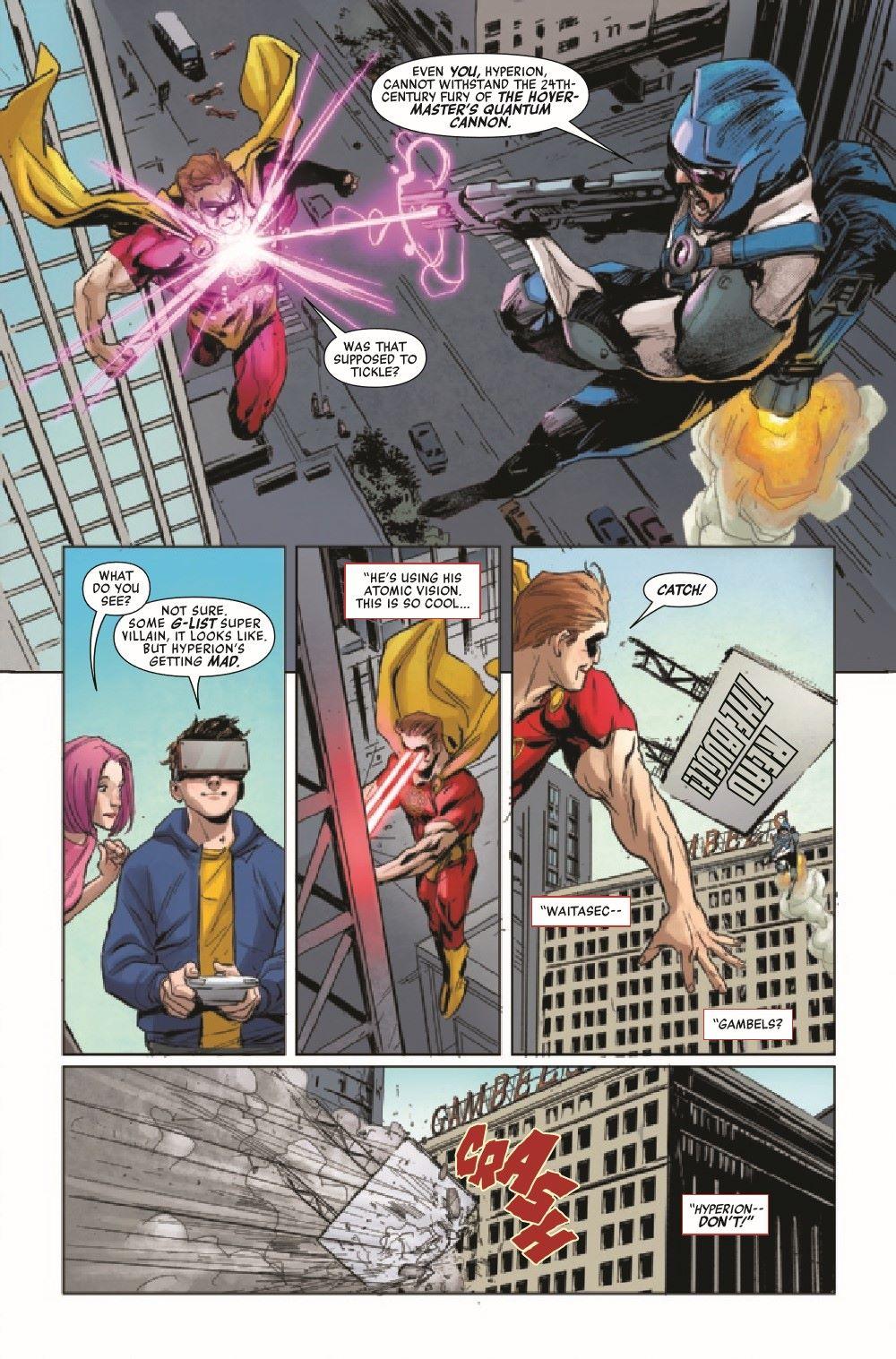 HRPPAMSHUT2021001_Preview-6 ComicList Previews: HEROES REBORN PETER PARKER THE AMAZING SHUTTERBUG #1