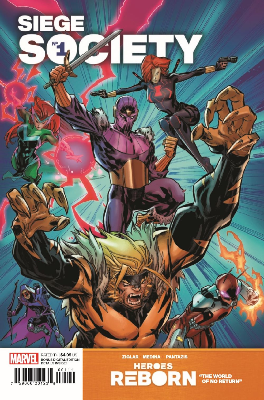 HRSIEGESOCIETY2021001_Preview-1 ComicList Previews: HEROES REBORN SIEGE SOCIETY #1