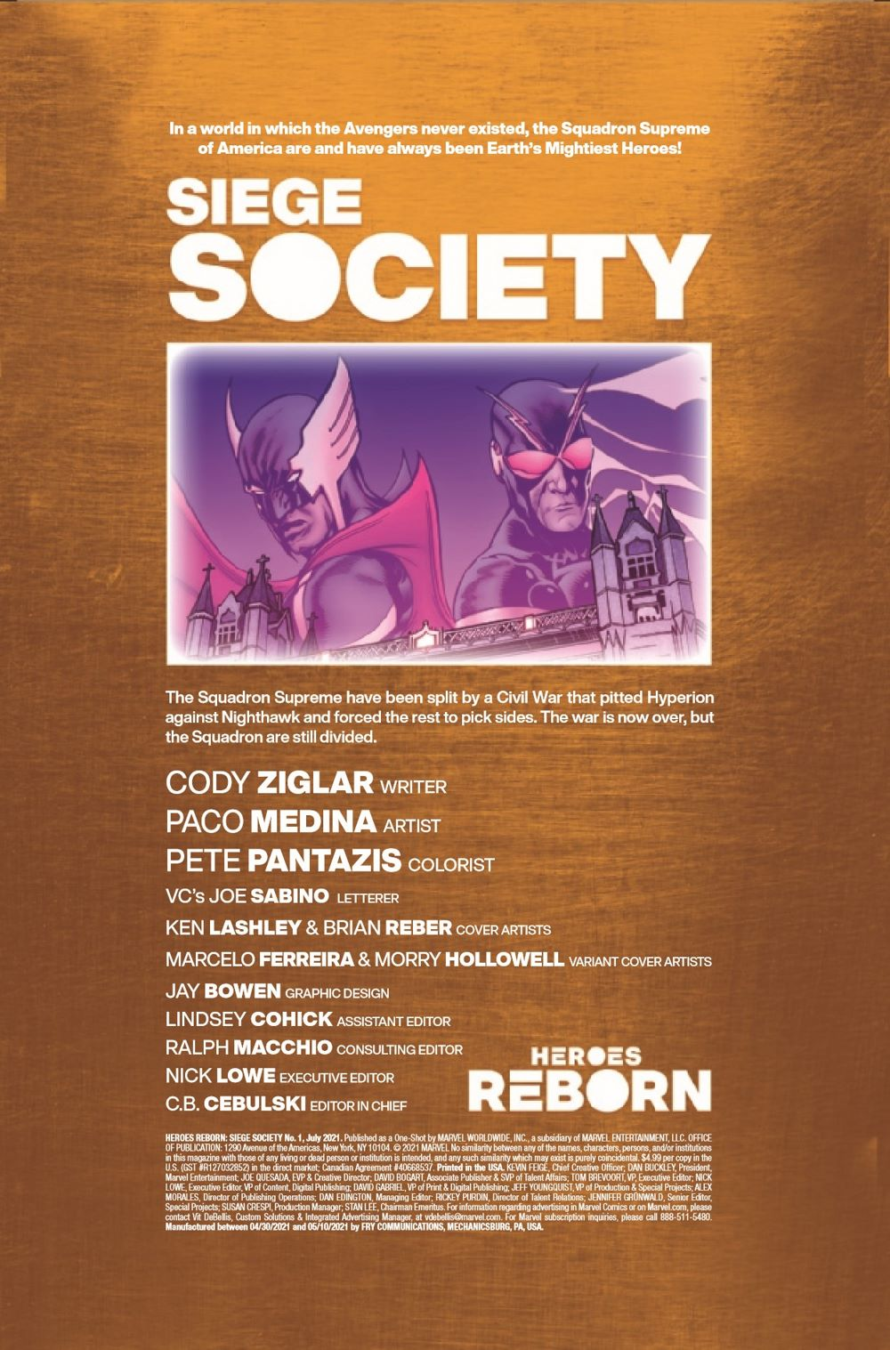 HRSIEGESOCIETY2021001_Preview-2 ComicList Previews: HEROES REBORN SIEGE SOCIETY #1