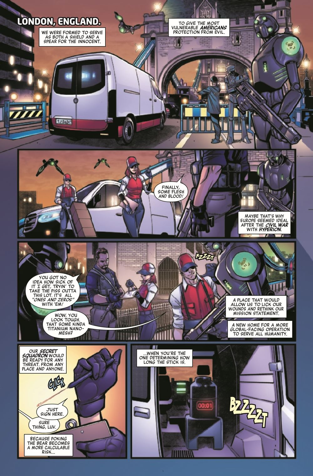 HRSIEGESOCIETY2021001_Preview-3 ComicList Previews: HEROES REBORN SIEGE SOCIETY #1