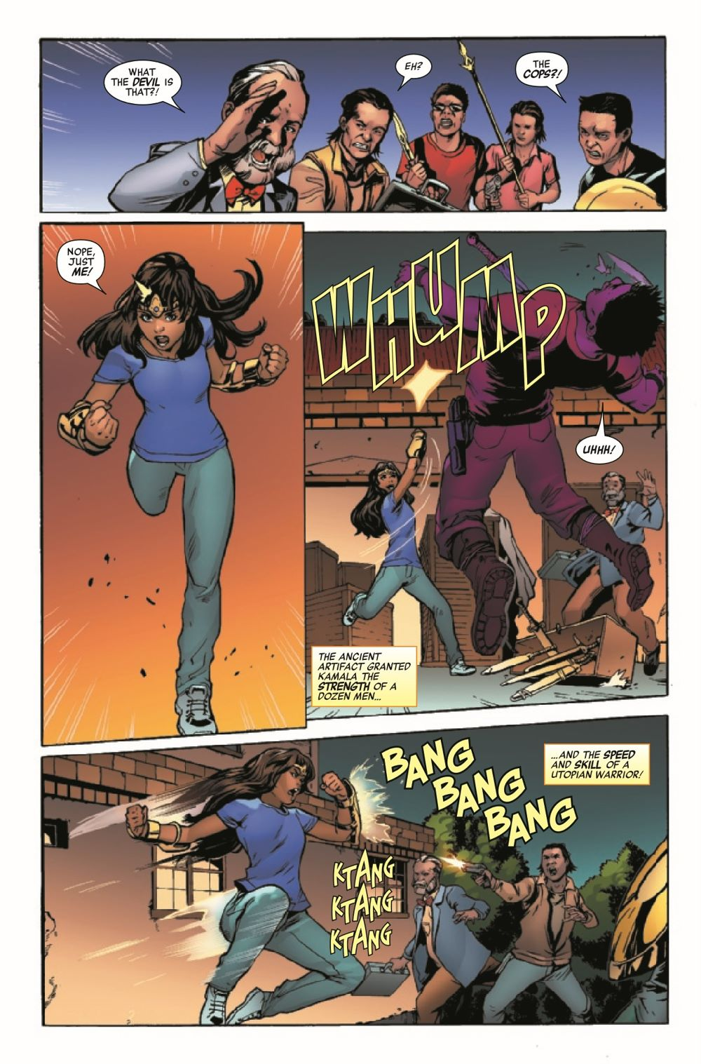 HRYOUNGSQ2021001_Preview-5 ComicList Previews: HEROES REBORN YOUNG SQUADRON #1