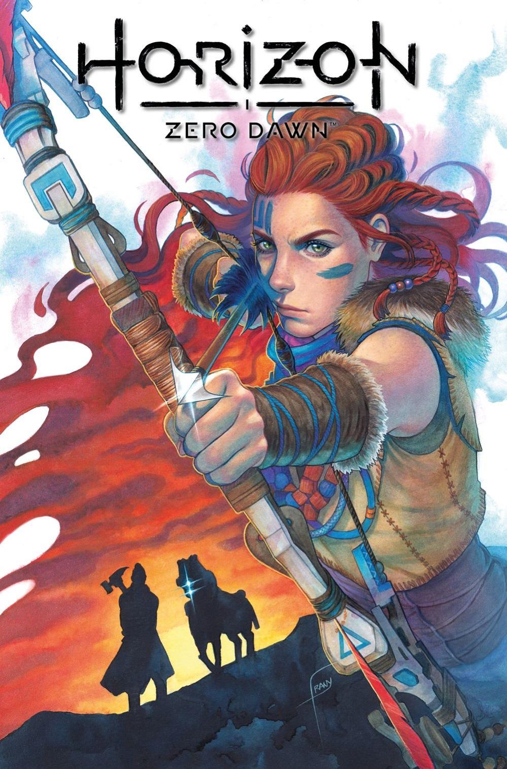 HorizonZeroDawn_2_A_FRANY Titan Comics August 2021 Solicitations
