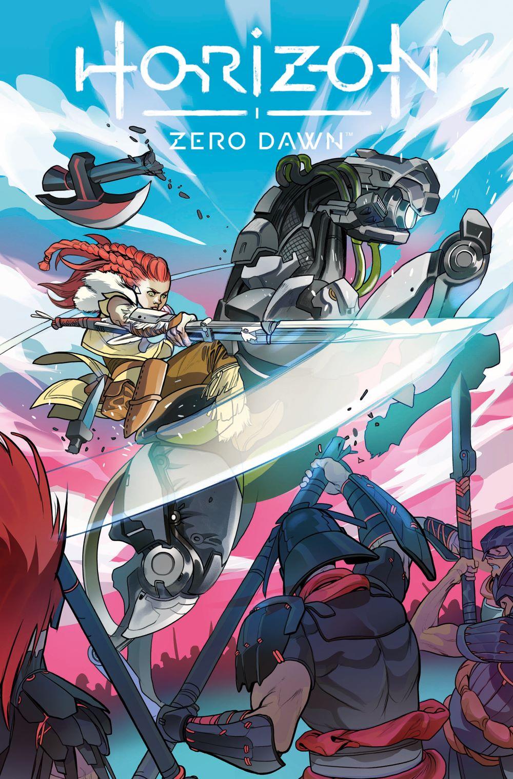 HorizonZeroDawn_2_D_RIVAS Titan Comics August 2021 Solicitations
