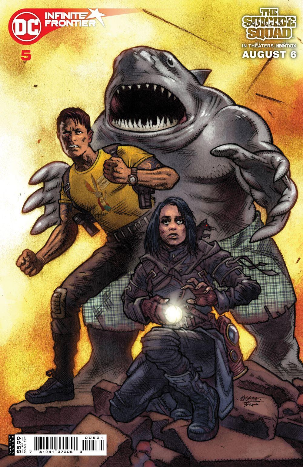 INFINITE_FRONTIER_Cv5_SSQUADMOVIE_var_00531 DC Comics August 2021 Solicitations
