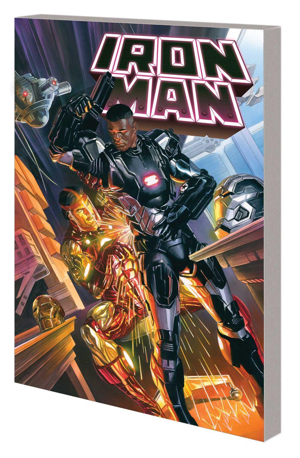 IRON_MAN_VOL_2_TPB Marvel Comics August 2021 Solicitations